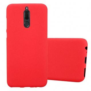 Cadorabo Hülle für Huawei MATE 10 LITE in FROST ROT - Handyhülle aus flexiblem TPU Silikon - Silikonhülle Schutzhülle Ultra Slim Soft Back Cover Case Bumper