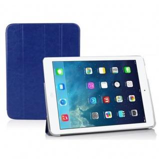 Cadorabo - Apple iPad AIR Ultra Slim Smart Cover Schutzhülle im Book Style mit Auto Wake Sleep und Standfunktion - Case Cover Bumper Etui in PAZIFIK BLAU