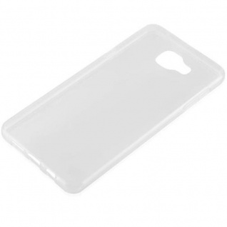 Cadorabo Hülle für Samsung Galaxy A7 2016 in VOLL TRANSPARENT - Handyhülle aus flexiblem TPU Silikon - Silikonhülle Schutzhülle Ultra Slim Soft Back Cover Case Bumper - Vorschau 2