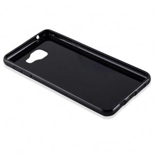 Cadorabo Hülle für Samsung Galaxy A7 2016 in SCHWARZ - Handyhülle aus flexiblem TPU Silikon - Silikonhülle Schutzhülle Ultra Slim Soft Back Cover Case Bumper - Vorschau 3
