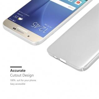 Cadorabo Hülle für Samsung Galaxy A8 2015 in METALL SILBER ? Hardcase Handyhülle aus Plastik gegen Kratzer und Stöße ? Schutzhülle Bumper Ultra Slim Back Case Hard Cover - Vorschau 5