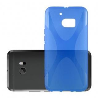 Cadorabo Hülle für HTC 10 in ROYAL BLAU - Handyhülle aus flexiblem TPU Silikon - Silikonhülle Schutzhülle Ultra Slim Soft Back Cover Case Bumper - Vorschau 2
