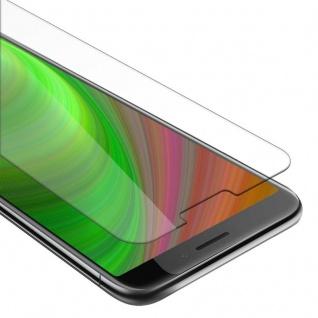 Cadorabo Panzer Folie für HTC Desire 12 Schutzfolie in KRISTALL KLAR Gehärtetes (Tempered) Display-Schutzglas in 9H Härte mit 3D Touch Kompatibilität