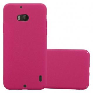 Cadorabo Hülle für Nokia Lumia 930 in FROSTY PINK - Hardcase Handyhülle aus Plastik gegen Kratzer und Stöße - Schutzhülle Bumper Ultra Slim Back Case Hard Cover
