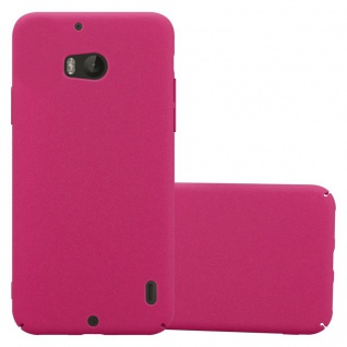 Cadorabo Hülle für Nokia Lumia 930 in FROSTY PINK Hardcase Handyhülle aus Plastik gegen Kratzer und Stöße Schutzhülle Bumper Ultra Slim Back Case Hard Cover