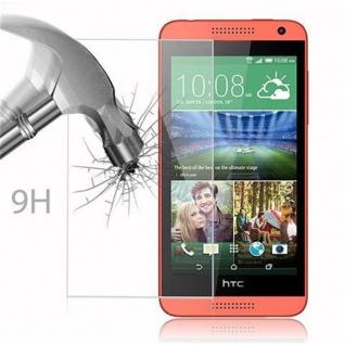 Cadorabo Panzer Folie für HTC Desire 610 - Schutzfolie in KRISTALL KLAR - Gehärtetes (Tempered) Display-Schutzglas in 9H Härte mit 3D Touch Kompatibilität - Vorschau 3