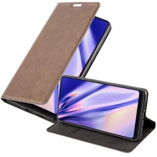 Cadorabo Hülle für Xiaomi Mi MIX 2S in KAFFEE BRAUN - Handyhülle mit Magnetverschluss, Standfunktion und Kartenfach - Case Cover Schutzhülle Etui Tasche Book Klapp Style