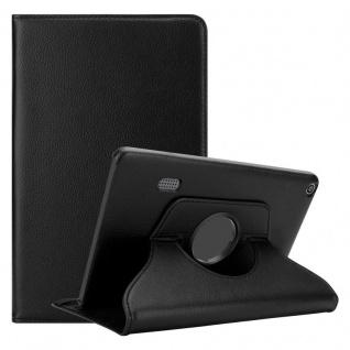 """Cadorabo Tablet Hülle für Huawei MediaPad T3 7 (7, 0"""" Zoll) in HOLUNDER SCHWARZ Book Style Schutzhülle OHNE Auto Wake Up mit Standfunktion und Gummiband Verschluss"""