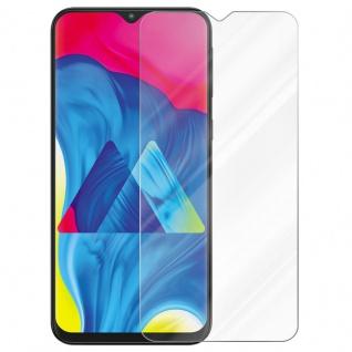 Cadorabo Panzer Folie für Samsung Galaxy M10 - Schutzfolie in KRISTALL KLAR - Gehärtetes (Tempered) Display-Schutzglas in 9H Härte mit 3D Touch Kompatibilität