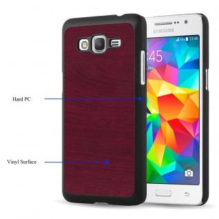 Cadorabo Hülle für Samsung Galaxy J5 2015 in WOODY ROT ? Hardcase Handyhülle aus Plastik gegen Kratzer und Stöße ? Schutzhülle Bumper Ultra Slim Back Case Hard Cover - Vorschau 3