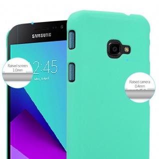 Cadorabo Hülle für Samsung Galaxy XCover 4 in FROSTY GRÜN - Hardcase Handyhülle aus Plastik gegen Kratzer und Stöße - Schutzhülle Bumper Ultra Slim Back Case Hard Cover - Vorschau 4