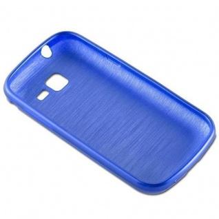 Cadorabo Hülle für Samsung Galaxy TREND in BLAU - Handyhülle aus flexiblem TPU Silikon - Silikonhülle Schutzhülle Ultra Slim Soft Back Cover Case Bumper - Vorschau 2