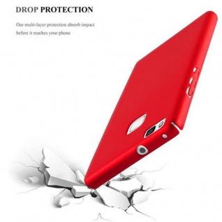 Cadorabo Hülle für Huawei P9 LITE in METALL ROT - Hardcase Handyhülle aus Plastik gegen Kratzer und Stöße - Schutzhülle Bumper Ultra Slim Back Case Hard Cover - Vorschau 5