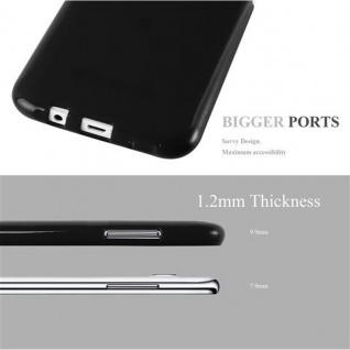 Cadorabo Hülle für Samsung Galaxy J5 2015 in JELLY SCHWARZ - Handyhülle aus flexiblem TPU Silikon - Silikonhülle Schutzhülle Ultra Slim Soft Back Cover Case Bumper - Vorschau 2