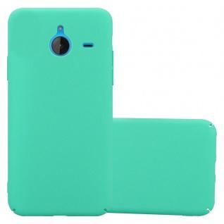 Cadorabo Hülle für Nokia Lumia 640 XL in FROSTY GRÜN - Hardcase Handyhülle aus Plastik gegen Kratzer und Stöße - Schutzhülle Bumper Ultra Slim Back Case Hard Cover