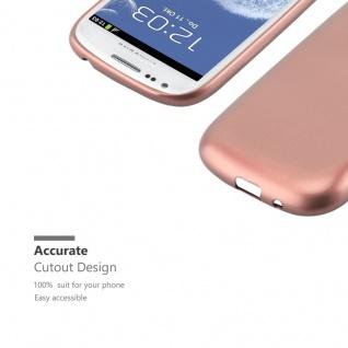 Cadorabo Hülle für Samsung Galaxy S3 / S3 NEO in METALLIC ROSE GOLD - Handyhülle aus flexiblem TPU Silikon - Silikonhülle Schutzhülle Ultra Slim Soft Back Cover Case Bumper - Vorschau 2