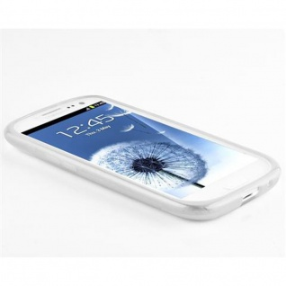 Cadorabo Hülle für Samsung Galaxy S3 / S3 NEO in HALB TRANSPARENT ? Handyhülle aus flexiblem TPU Silikon ? Silikonhülle Schutzhülle Ultra Slim Soft Back Cover Case Bumper - Vorschau 2