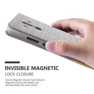 Cadorabo Hülle für Huawei MATE 10 PRO in HELL GRAU BRAUN - Handyhülle mit Magnetverschluss, Standfunktion und Kartenfach - Case Cover Schutzhülle Etui Tasche Book Klapp Style - Vorschau 4