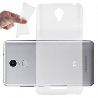 Cadorabo Hülle für Xiaomi Red Mi 3 in VOLL TRANSPARENT - Handyhülle aus flexiblem TPU Silikon - Silikonhülle Schutzhülle Ultra Slim Soft Back Cover Case Bumper