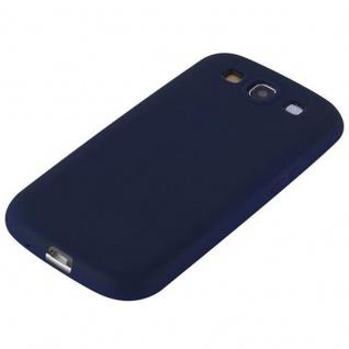 Cadorabo Hülle für Samsung Galaxy S3 / S3 NEO in CANDY DUNKEL BLAU - Handyhülle aus flexiblem TPU Silikon - Silikonhülle Schutzhülle Ultra Slim Soft Back Cover Case Bumper - Vorschau 5