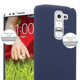 Cadorabo Hülle für LG G2 MINI in FROSTY BLAU - Hardcase Handyhülle aus Plastik gegen Kratzer und Stöße - Schutzhülle Bumper Ultra Slim Back Case Hard Cover - Vorschau 4