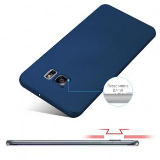 Cadorabo Hülle für Samsung Galaxy S6 EDGE PLUS in METALL BLAU - Hardcase Handyhülle aus Plastik gegen Kratzer und Stöße - Schutzhülle Bumper Ultra Slim Back Case Hard Cover - Vorschau 4