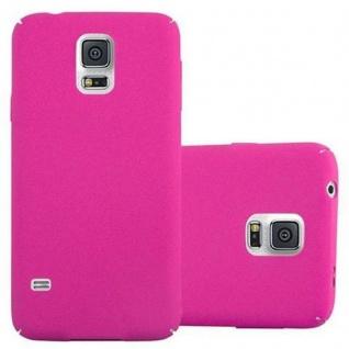 Cadorabo Hülle für Samsung Galaxy S5 / S5 NEO in FROSTY PINK - Hardcase Handyhülle aus Plastik gegen Kratzer und Stöße - Schutzhülle Bumper Ultra Slim Back Case Hard Cover