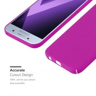 Cadorabo Hülle für Samsung Galaxy A3 2017 in FROSTY PINK - Hardcase Handyhülle aus Plastik gegen Kratzer und Stöße - Schutzhülle Bumper Ultra Slim Back Case Hard Cover - Vorschau 5