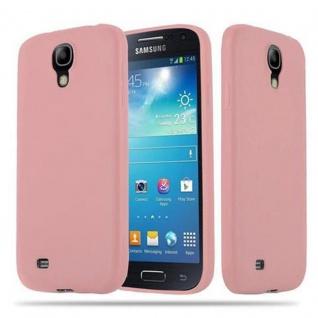 Cadorabo Hülle für Samsung Galaxy S4 in CANDY ROSA - Handyhülle aus flexiblem TPU Silikon - Silikonhülle Schutzhülle Ultra Slim Soft Back Cover Case Bumper