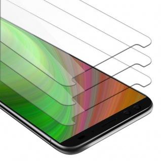 Cadorabo 3x Panzer Folie für HTC U12 PLUS - Schutzfolie in KRISTALL KLAR - 3er Pack Gehärtetes (Tempered) Display-Schutzglas in 9H Härte mit 3D Touch Kompatibilität