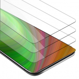 Cadorabo 3x Panzer Folie für Xiaomi MIX 2S - Schutzfolie in KRISTALL KLAR - 3er Pack Gehärtetes (Tempered) Display-Schutzglas in 9H Härte mit 3D Touch Kompatibilität