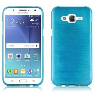 Cadorabo Hülle für Samsung Galaxy J5 2015 in TÜRKIS - Handyhülle aus flexiblem TPU Silikon - Silikonhülle Schutzhülle Ultra Slim Soft Back Cover Case Bumper