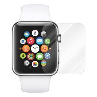 Cadorabo Panzer Folie für Apple Watch Series 1 & 2 42mm Schutzfolie in KRISTALL KLAR Gehärtetes (Tempered) Display-Schutzglas in 9H Härte mit 3D Touch Kompatibilität - Vorschau 2