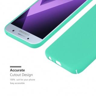 Cadorabo Hülle für Samsung Galaxy A3 2017 in FROSTY GRÜN - Hardcase Handyhülle aus Plastik gegen Kratzer und Stöße - Schutzhülle Bumper Ultra Slim Back Case Hard Cover - Vorschau 5