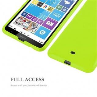 Cadorabo Hülle für Nokia Lumia 1320 in JELLY GRÜN ? Handyhülle aus flexiblem TPU Silikon ? Silikonhülle Schutzhülle Ultra Slim Soft Back Cover Case Bumper - Vorschau 4