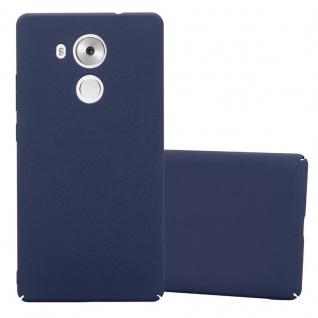 Cadorabo Hülle für Huawei MATE 8 in FROSTY BLAU - Hardcase Handyhülle aus Plastik gegen Kratzer und Stöße - Schutzhülle Bumper Ultra Slim Back Case Hard Cover