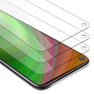 Cadorabo 3x Panzer Folie für Samsung Galaxy A9 PRO 2019 - Schutzfolie in KRISTALL KLAR - 3er Pack Gehärtetes (Tempered) Display-Schutzglas in 9H Härte mit 3D Touch Kompatibilität