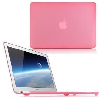Cadorabo - Mattes HardCase für Apple MacBook PRO 15 (Zoll) ? Case Hartschale Schutzhülle Cover MacBook Tasche in PINK - leicht und schützend
