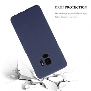 Cadorabo Hülle für Samsung Galaxy S9 in FROSTY BLAU - Hardcase Handyhülle aus Plastik gegen Kratzer und Stöße - Schutzhülle Bumper Ultra Slim Back Case Hard Cover - Vorschau 4