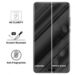 Cadorabo Panzer Folie für Huawei MATE 10 - Schutzfolie in KRISTALL KLAR - Gehärtetes (Tempered) Display-Schutzglas in 9H Härte mit 3D Touch Kompatibilität - Vorschau 3