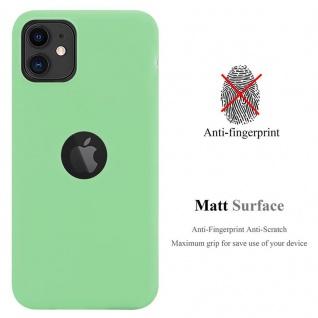 Cadorabo Hülle für Apple iPhone 11 (XI) in CANDY PASTELL GRÜN - Handyhülle aus flexiblem TPU Silikon - Silikonhülle Schutzhülle Ultra Slim Soft Back Cover Case Bumper - Vorschau 2