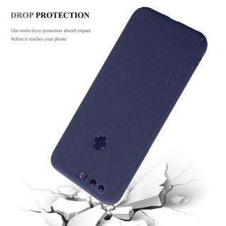 Cadorabo Hülle für Honor 8 in FROSTY BLAU - Hardcase Handyhülle aus Plastik gegen Kratzer und Stöße - Schutzhülle Bumper Ultra Slim Back Case Hard Cover - Vorschau 4