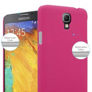 Cadorabo Hülle für Samsung Galaxy NOTE 3 NEO in FROSTY PINK - Hardcase Handyhülle aus Plastik gegen Kratzer und Stöße - Schutzhülle Bumper Ultra Slim Back Case Hard Cover - Vorschau 3