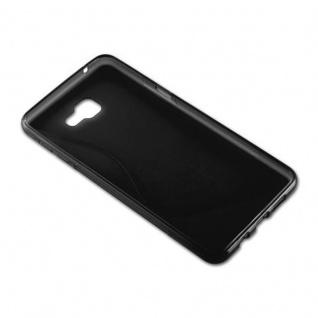 Cadorabo Hülle für Samsung Galaxy A9 2016 in OXID SCHWARZ ? Handyhülle aus flexiblem TPU Silikon ? Silikonhülle Schutzhülle Ultra Slim Soft Back Cover Case Bumper - Vorschau 4