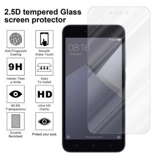 Cadorabo Panzer Folie für Xiaomi Red Mi NOTE 5A - Schutzfolie in KRISTALL KLAR - Gehärtetes (Tempered) Display-Schutzglas in 9H Härte mit 3D Touch Kompatibilität - Vorschau 4