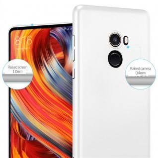 Cadorabo Hülle für Xiaomi Mi Mix 2 in METALL SILBER - Hardcase Handyhülle aus Plastik gegen Kratzer und Stöße - Schutzhülle Bumper Ultra Slim Back Case Hard Cover - Vorschau 4