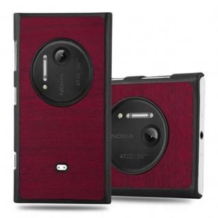 Cadorabo Hülle für Nokia Lumia 1020 in WOODY ROT - Hardcase Handyhülle aus Plastik gegen Kratzer und Stöße - Schutzhülle Bumper Ultra Slim Back Case Hard Cover