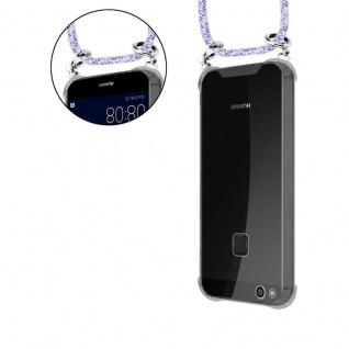 Cadorabo Handy Kette für Huawei P10 in UNICORN - Silikon Necklace Umhänge Hülle mit Silber Ringen, Kordel Band Schnur und abnehmbarem Etui - Schutzhülle - Vorschau 5