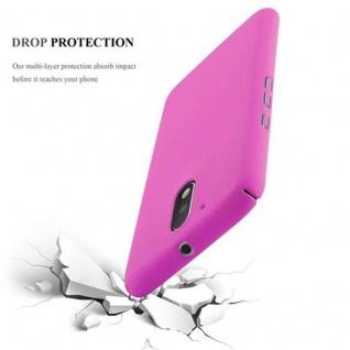 Cadorabo Hülle für Motorola MOTO G4 / MOTO G4 PLUS in FROSTY PINK - Hardcase Handyhülle aus Plastik gegen Kratzer und Stöße - Schutzhülle Bumper Ultra Slim Back Case Hard Cover - Vorschau 3