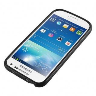 Cadorabo Hülle für Samsung Galaxy S4 MINI in JELLY SCHWARZ ? Handyhülle aus flexiblem TPU Silikon ? Silikonhülle Schutzhülle Ultra Slim Soft Back Cover Case Bumper - Vorschau 4